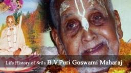 Life History of Śrīla B.V. Purī Gosvāmī Mahārāja
